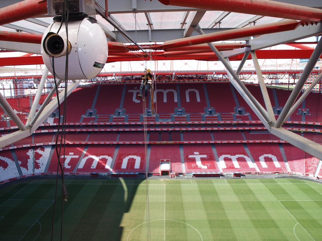 Obra Estádio da Luz